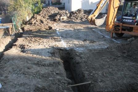 creuser les fondations