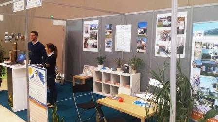 le stand Provence Maisons au salon Invest'in Aix
