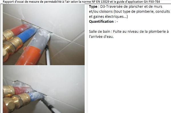 sources de fuites